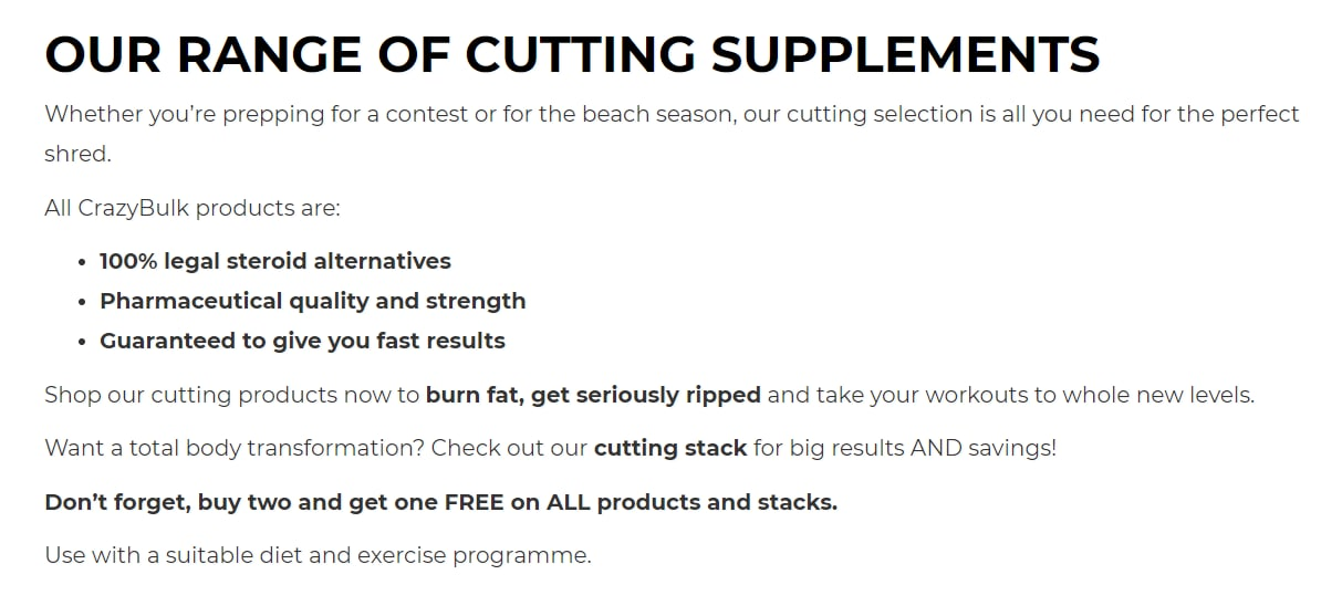 Top 3 cutting steroids