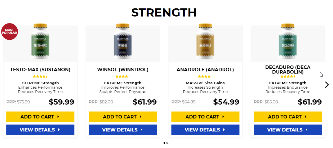 Steroids to get you ripped